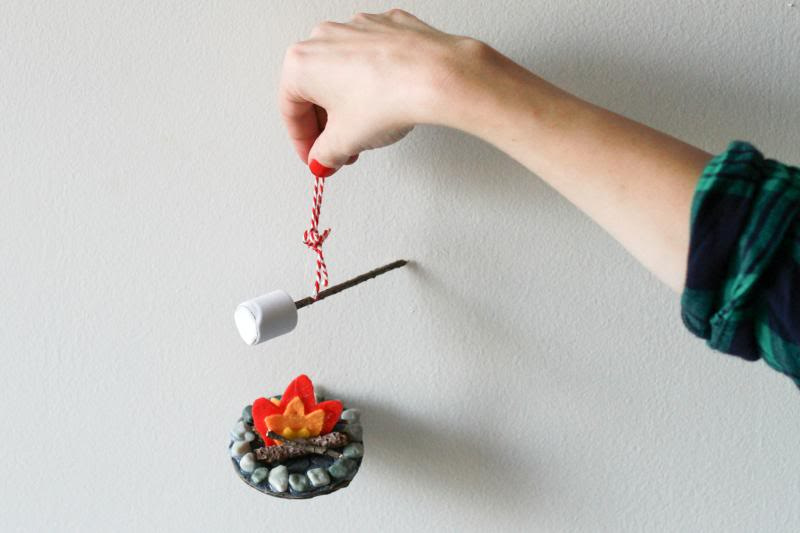 Campfire Ornament Craft