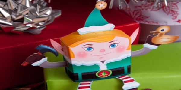 3D Paper Elf
