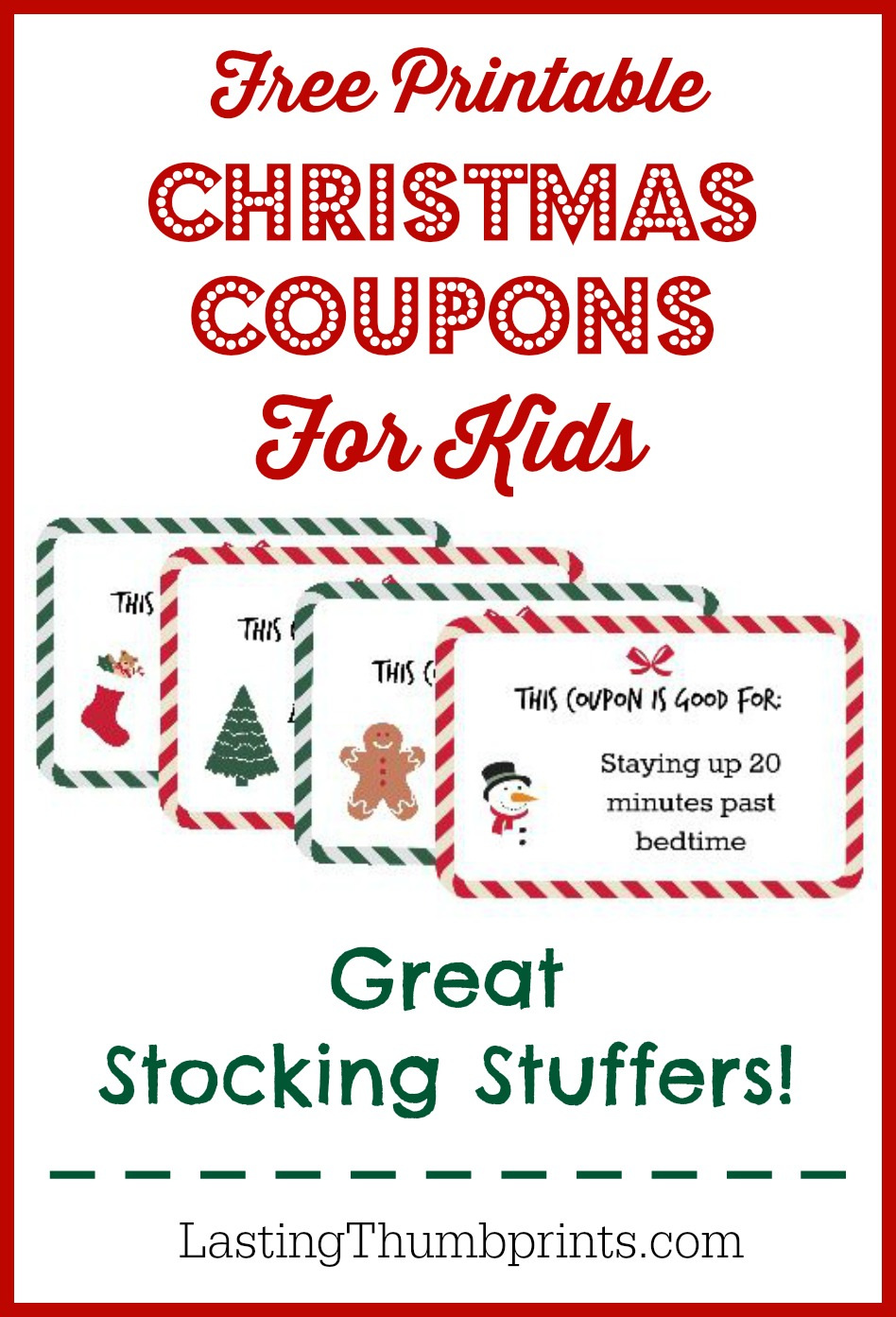 Christmas Trees Coupons Printable