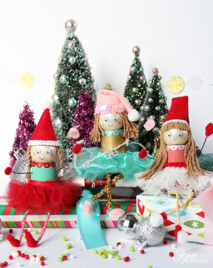 Clay Pot Elf Christmas Crafts