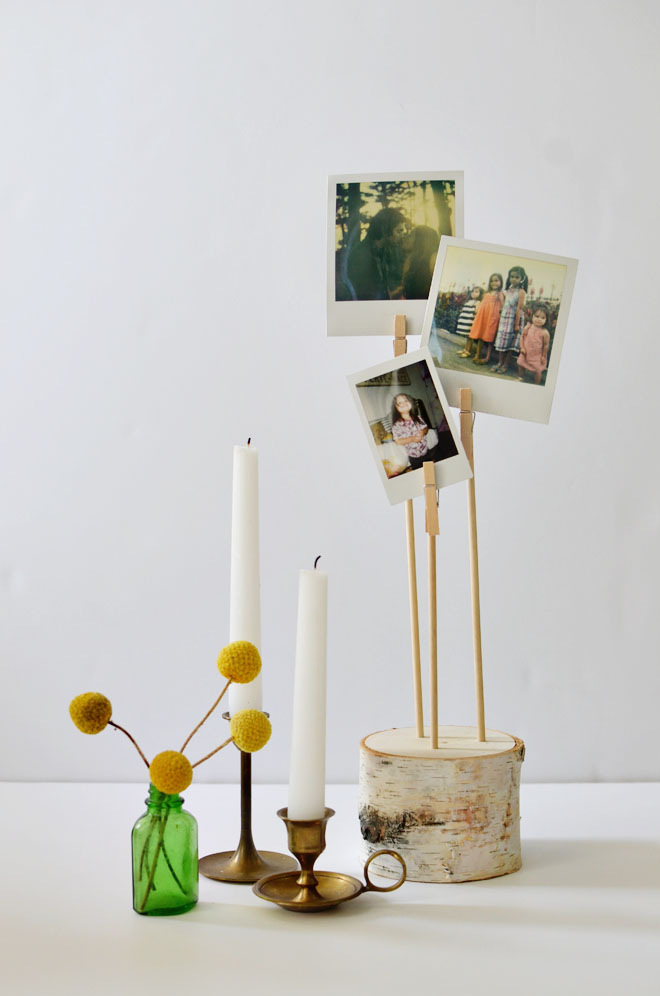 Birch Photo Pillar