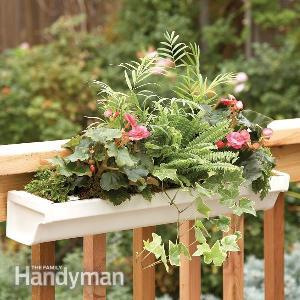 Deck Planter Display