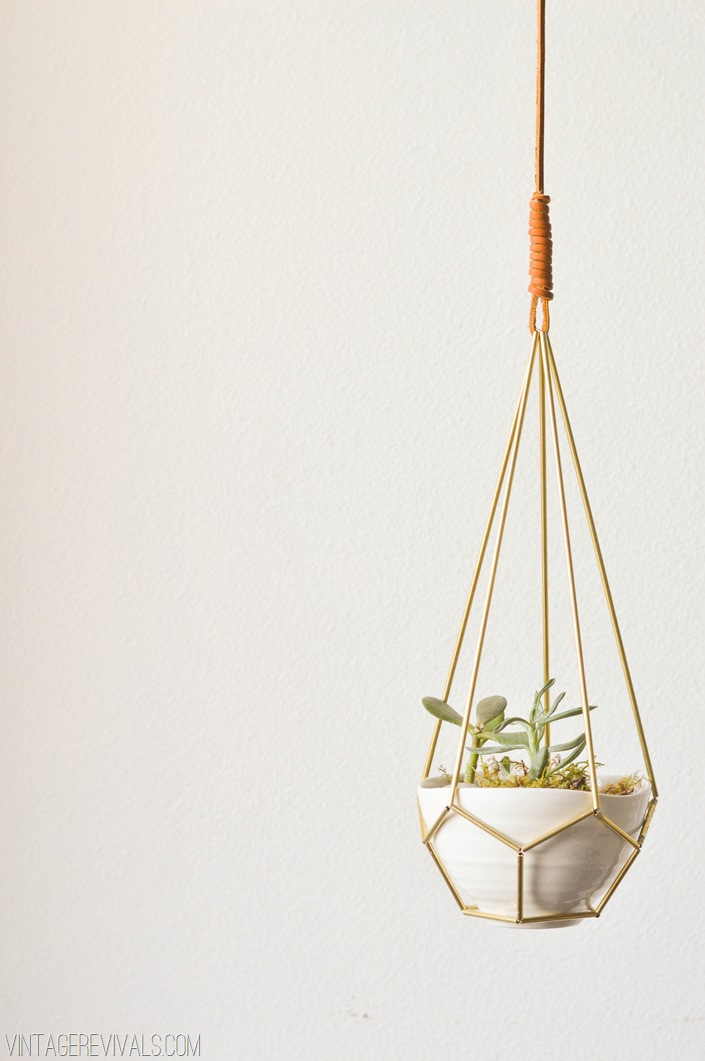 Hanging Tear Drop Planter