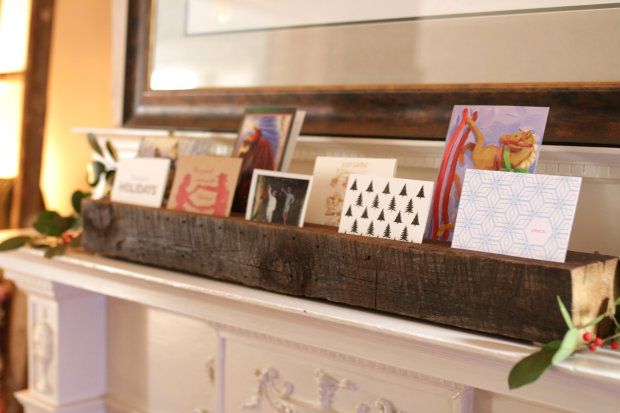 Photo Stand For the Fire Place