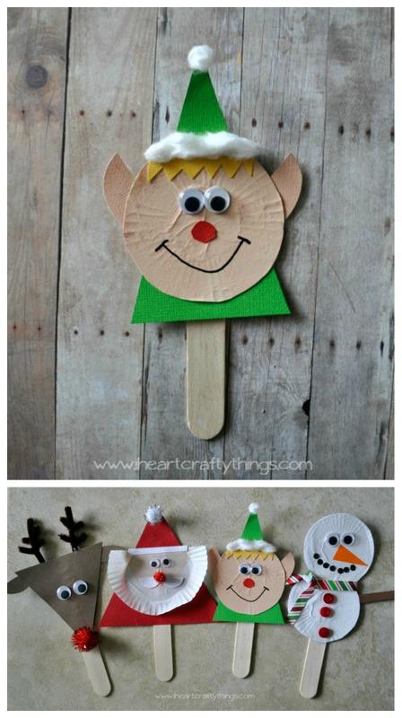 Elf puppet for kids