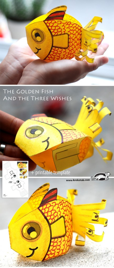 Creative Sea Animal Crafts For Kids on Art For Grade 3