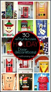 Impressive Holiday Door Decorations (30 Unusual Ideas)
