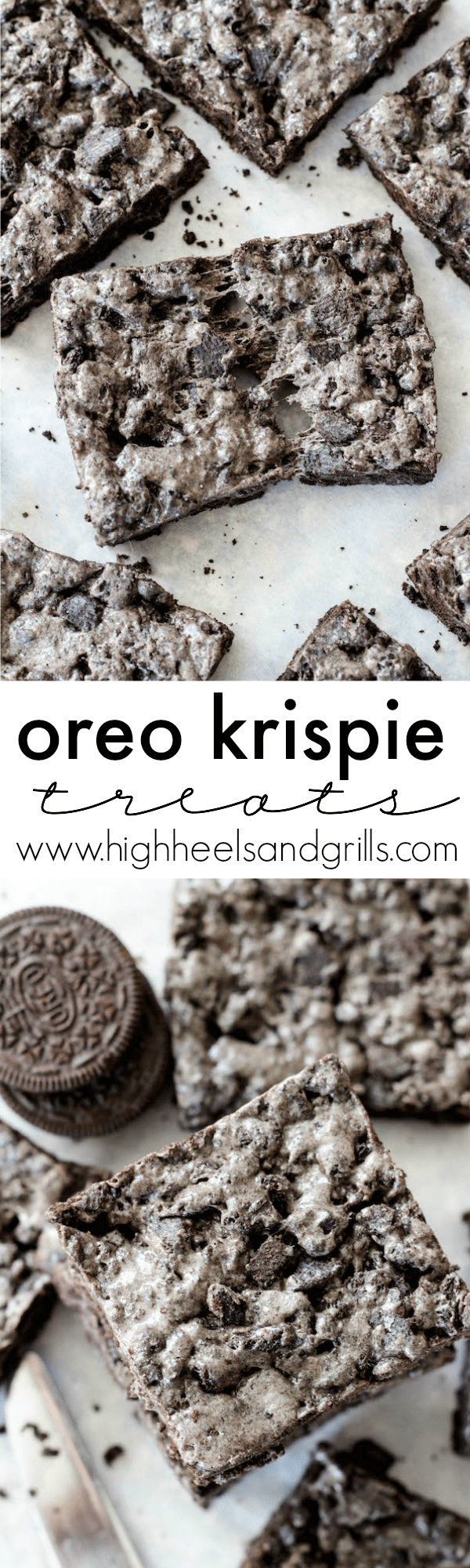 Oreo krispie treats recipe