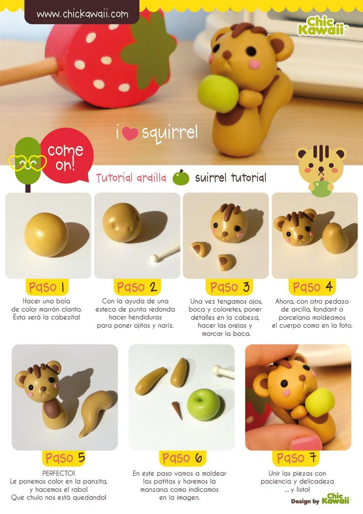 how to make easy clay animals