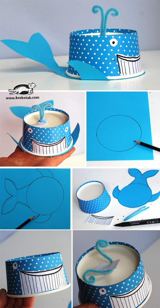 paper cup octopus craftionary 2622