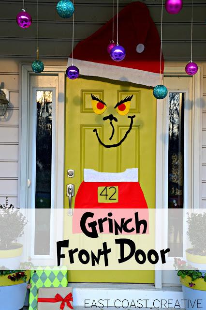 Grinch front door
