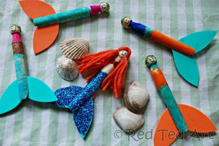 mermaid-clothespeg