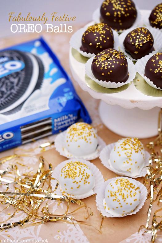 New Years Eve oreo balls