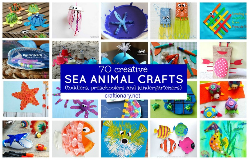 Sea Creature Crafts For Kids