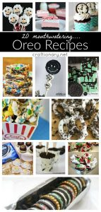 Oreo cookie recipes at craftionary.net