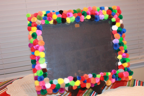 pom pom photo frame