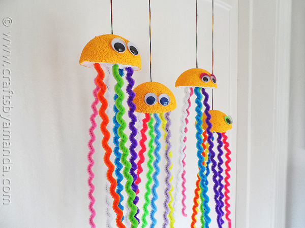 Creative Sea Animal Crafts For Kids on Pipe Cleaner Crafts