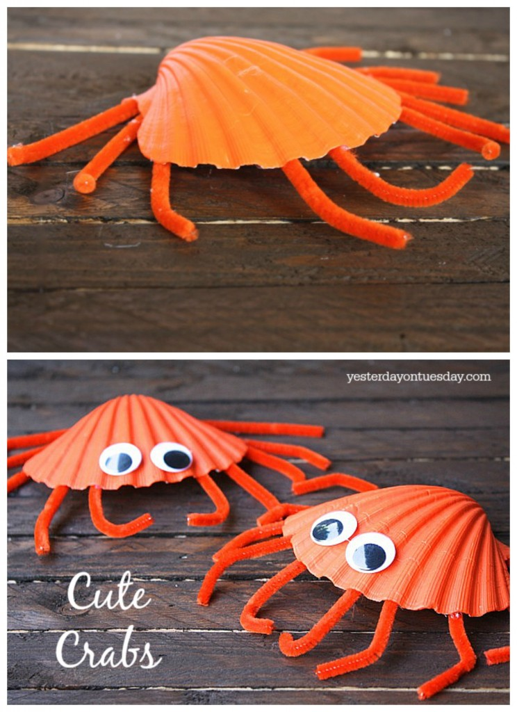 sea animal crab craft
