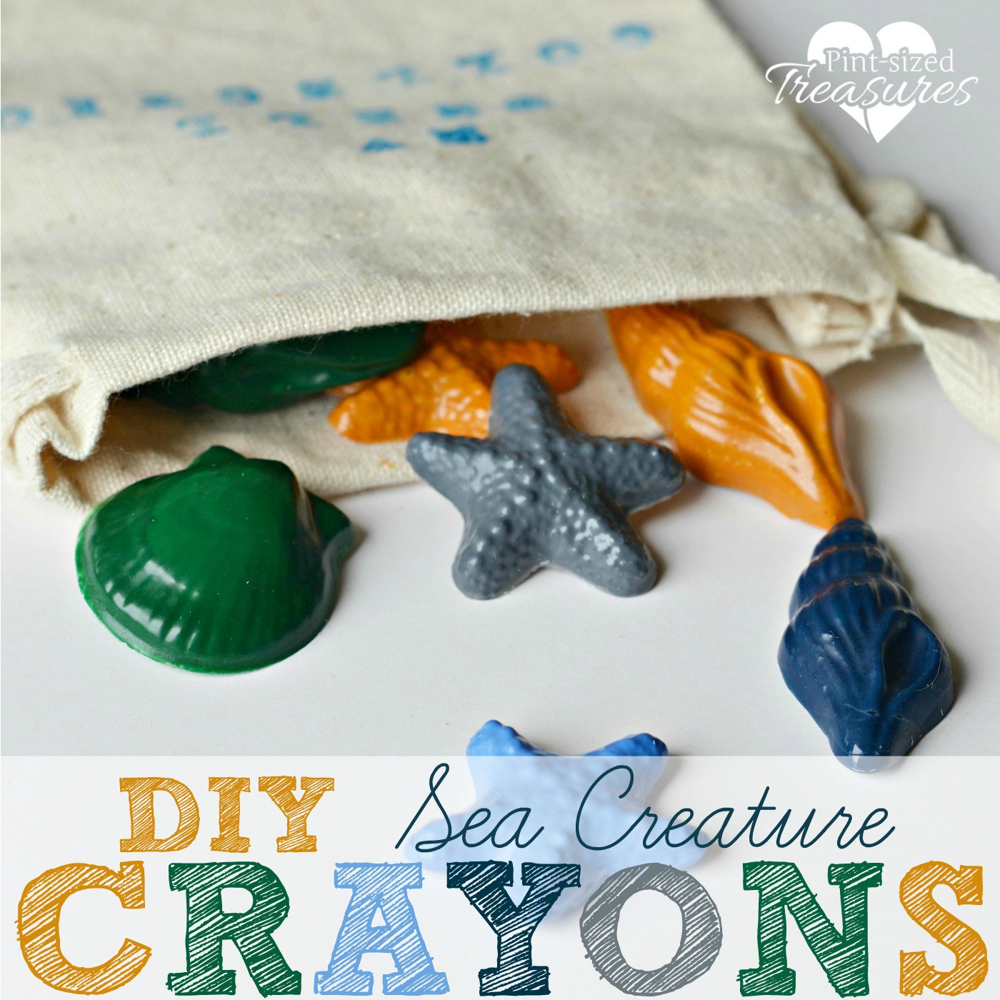 craftionary sea creature crayons