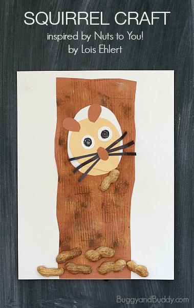 Squirrel craft for kids