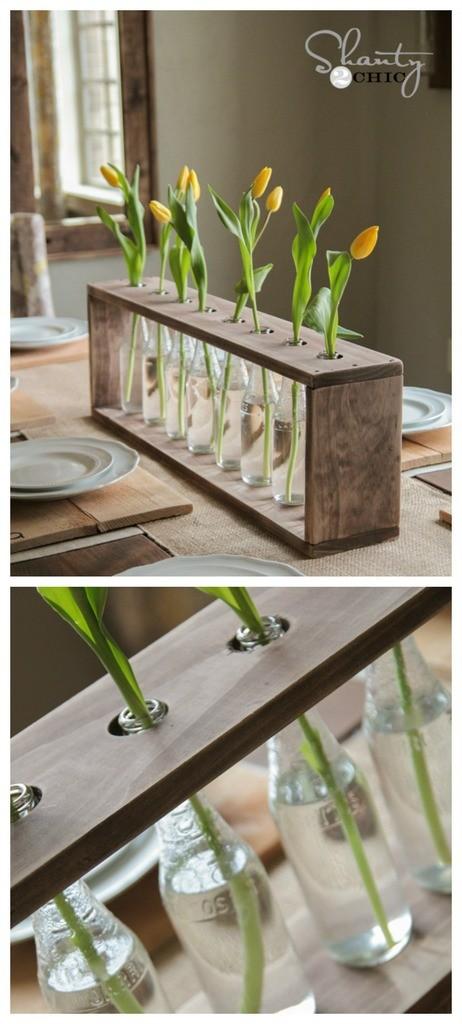 DIY flower vase tutorial