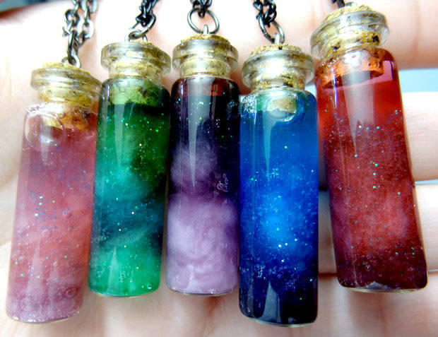 diy nebula jewelry - photo #3