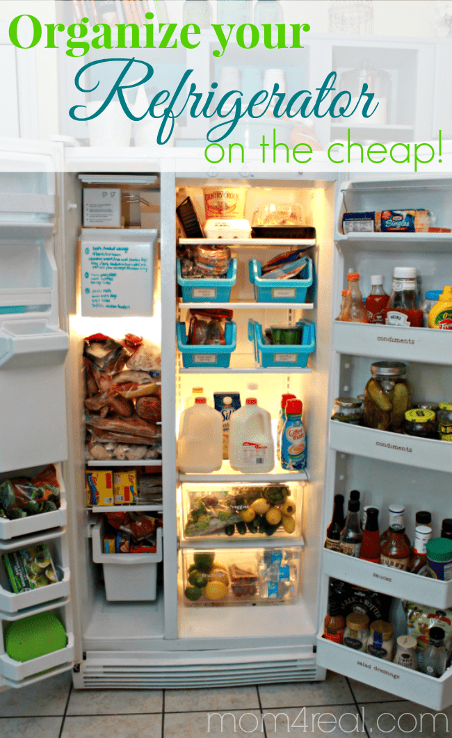 Organize Your Refrigerator And Fridge