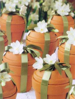 Flower Pot Wedding Favors - Photos Office and Pot Dianxian2007.Com