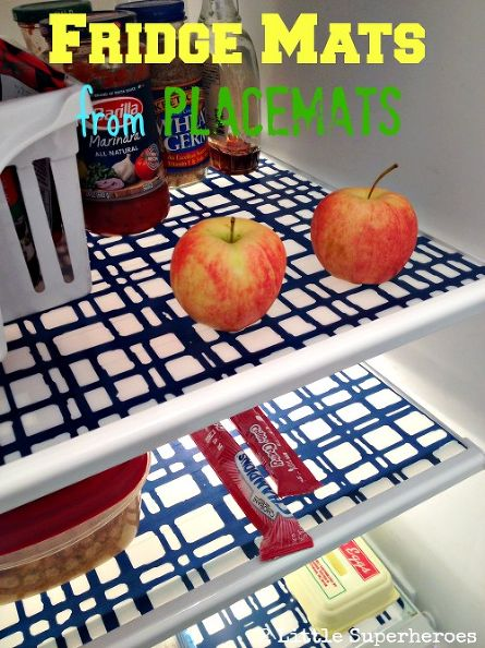 fridge placemats diy