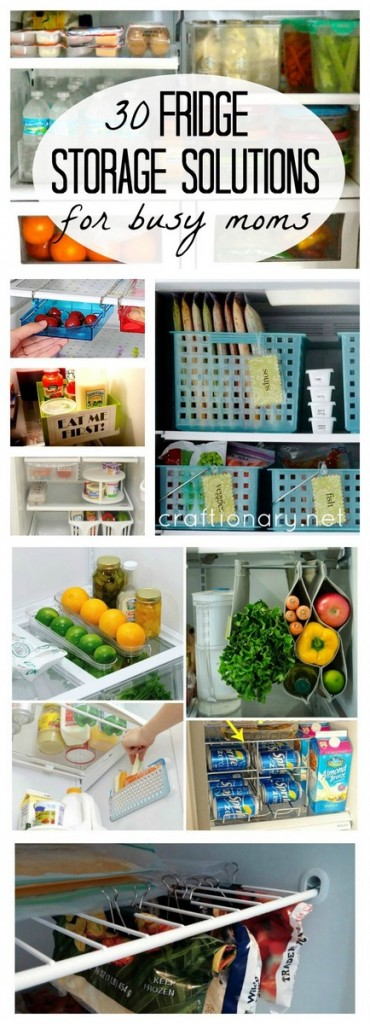 Fridge storage solutions