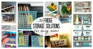 30 Fridge Storage Solutions for busy moms