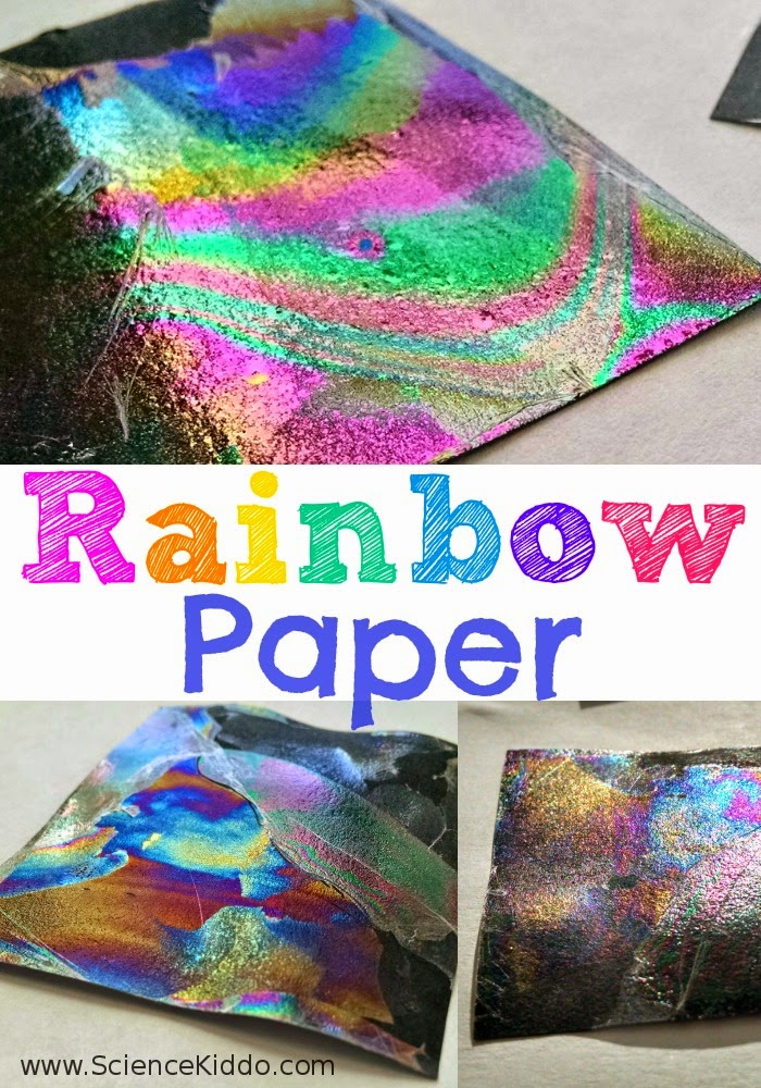 rainbow paper craft craftionary 2809