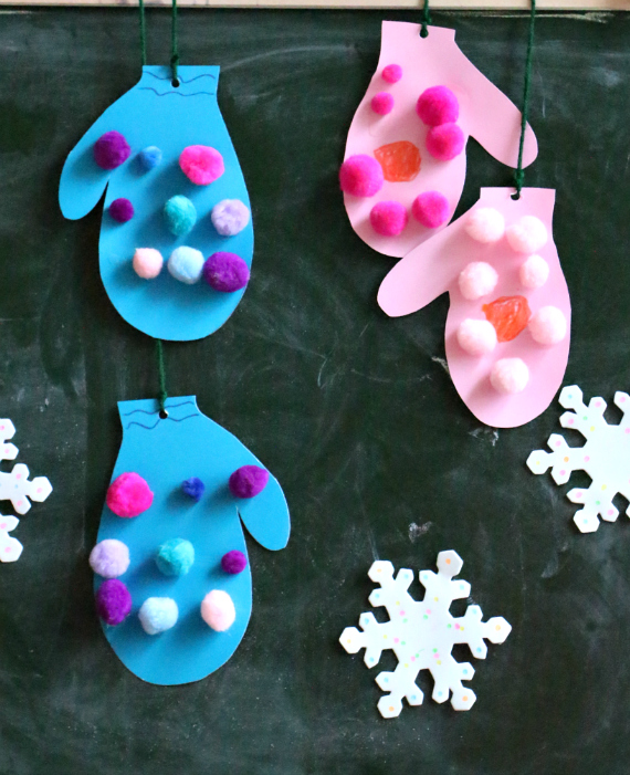 Winter Themed Crafts For Toddlers
