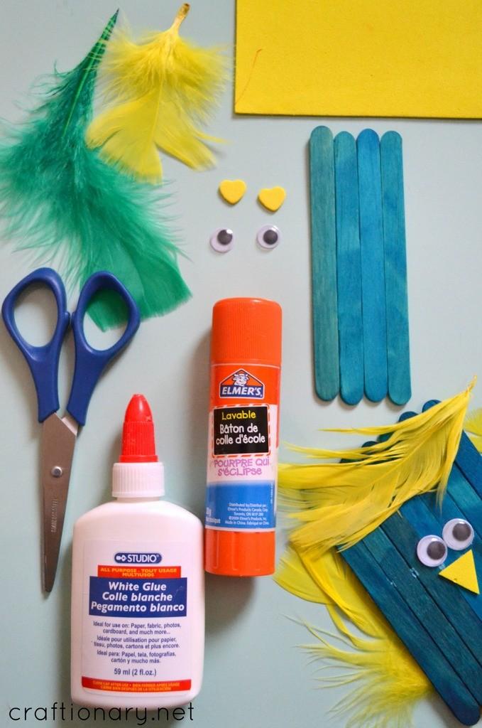 DIY bird craft tutorial