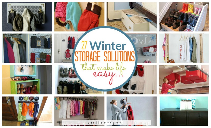 Winter storage solutions and organization ideas that make life easy