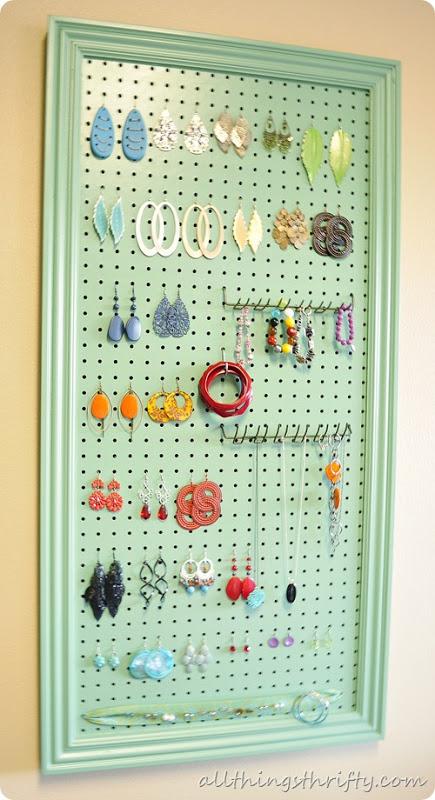 pegboard accessory organizer