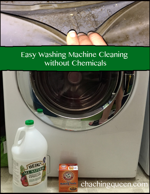 How to clean your washing machine without chemicals