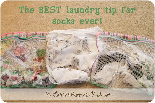 Best laundry tip for socks