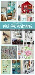 Creative uses for pegboards that will excite you
