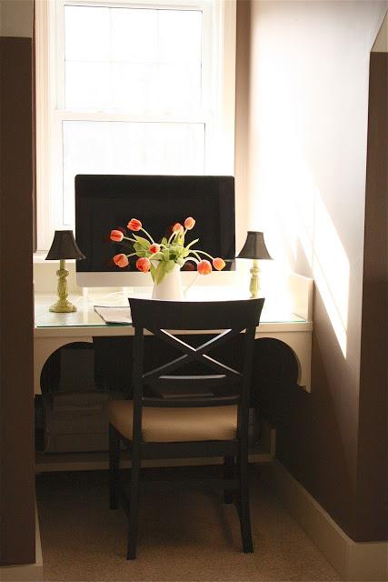 diy window study station