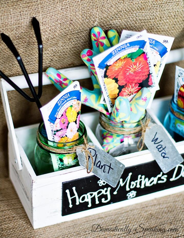 mother's day gardening jar kit