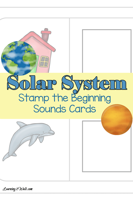 worksheet Solar System Worksheets Free craftionary solar system stamp the beginning sounds