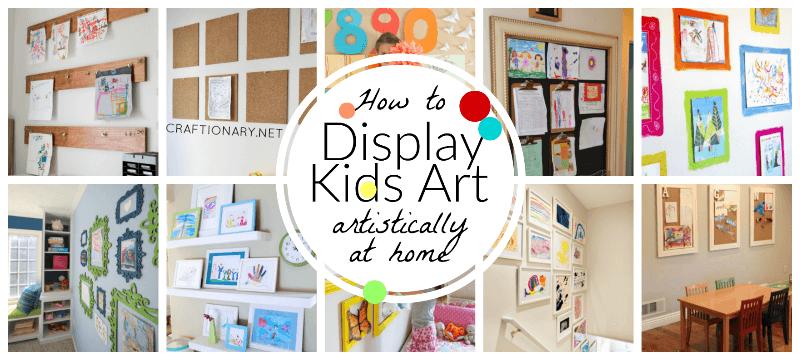 Best display kids art ideas