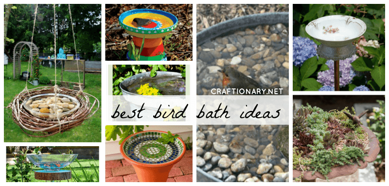 Best DIY bird baths