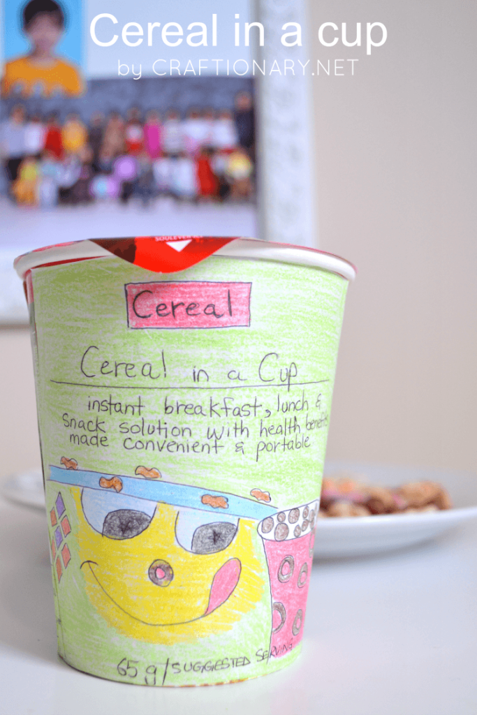 Cereal in a cup - breakfast, lunch and snack solution