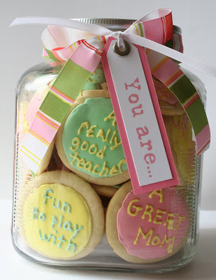 cookies in a jar gift idea
