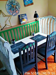 crib homework station