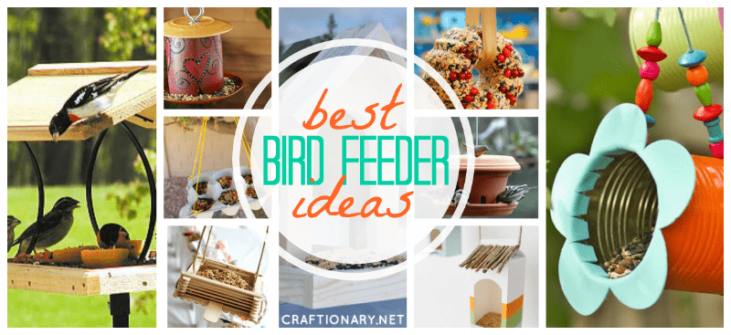 DIY bird feeders tutorials