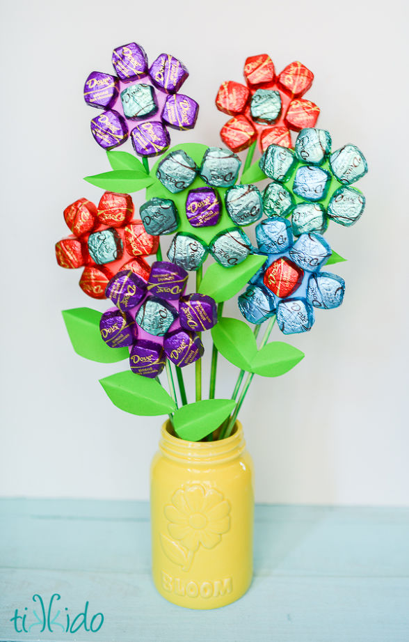 mother's day chocolate flower bouquet