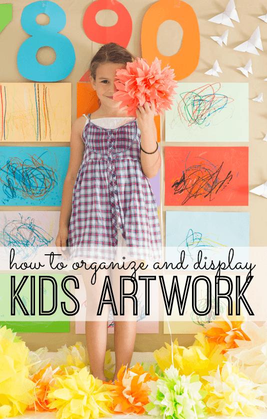 kids art work organization